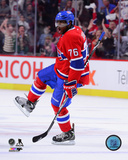 P.K. Subban 2012-13 Playoff Action Photo