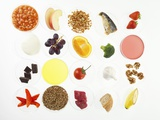 Balanced Diet, Conceptual Image Photographic Print by Tek Image