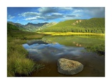 Mt Powell and Piney Lake, Colorado Prints by Tim Fitzharris