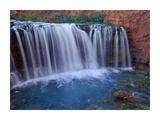 Rock Falls, Havasu Canyon, Arizona Posters by Tim Fitzharris