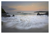 Moon over Playa Espadilla, Costa Rica Prints by Tim Fitzharris