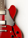 Electric Guitar from Above Photographic Print by Jonathan Kitchen