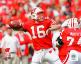 Scott Tolzien University of Wisconsin Badgers 2009 Action Photo