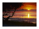 Sunset over Anne's Beach, Florida Prints by Tim Fitzharris