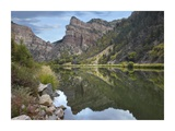 Colorado River, Glenwood Canyon, Colorado Print by Tim Fitzharris