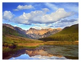 Mt Powell and Piney Lake, Colorado Print by Tim Fitzharris