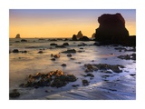 Lone Beach at sunset, Oregon Prints by Tim Fitzharris