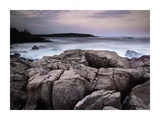 Sunset of the Atlantic Ocean near Thunder Hole, Acadia National Park, Maine Posters by Tim Fitzharris