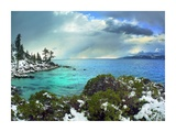Memorial Point, Lake Tahoe, Nevada Print by Tim Fitzharris