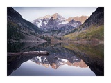 Maroon Bells Lake, Snowmass Wilderness, White River National Forest, Colorado Prints by Tim Fitzharris