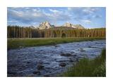 Sawtooth Range and Stanley Lake Creek, Idaho Art by Tim Fitzharris