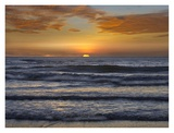 Sunset, Playa Langosta, Guanacaste, Costa Rica Print by Tim Fitzharris