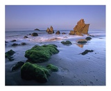 Seastacks on El Matador State Beach, Malibu, California Posters by Tim Fitzharris