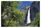 Bridal Veil Falls, Yosemite National Park, California Print by Tim Fitzharris