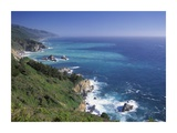 Big Sur coast from near Grimes Point, California Prints by Tim Fitzharris