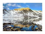 Geissler Mountain reflected in Linkins Lake, Colorado Prints by Tim Fitzharris
