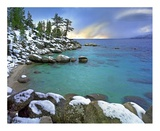 Hidden Beach and Memorial Point, Lake Tahoe, Nevada Prints by Tim Fitzharris
