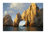 El Arco and sea stacks, Cabo San Lucas, Mexico Poster by Tim Fitzharris