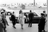 Sophia Loren Arrives at the Cinema Palace of Cannes Photographic Print by Mario de Biasi
