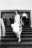 Sophia Loren Arrives at Cinema Palace of Cannes Reproduction photographique par Mario de Biasi