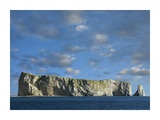 Perce Rock, island limestone formation, Quebec, Canada Poster by Tim Fitzharris