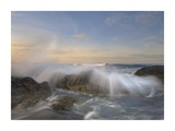 Wave breaking, Playa Langosta, Guanacaste, Costa Rica Prints by Tim Fitzharris