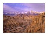Sierra Nevada Range from Alabama Hills, California Posters by Tim Fitzharris