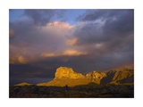 El Capitan, Guadalupe Mountains National Park, Texas Print by Tim Fitzharris