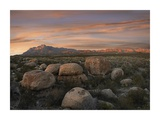 Boulders at Guadalupe Mountains National Park, Texas Prints by Tim Fitzharris