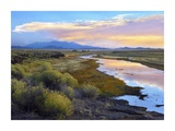 Rio Grande and the Sangre de Cristo Mountains, Colorado Prints by Tim Fitzharris