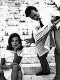 A Young Couple Fotografisk trykk av Marisa Rastellini