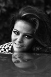 Portrait of Claudia Cardinale Reproduction photographique par Mario de Biasi