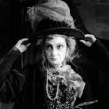 Close Up of Sarah Ferrati in the Role of Aurelia Reproduction photographique par Mario de Biasi