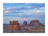 Eroded buttes in desert, Bryce Canyon National Park, Utah Posters by Tim Fitzharris