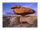 El Capitan and Balanced Rock, Guadalupe Mountains National Park, Texas Posters by Tim Fitzharris