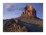Shiprock, the basalt core of an extinct volcano, New Mexico Print by Tim Fitzharris