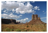 Landscape view, Monument Valley Navajo Tribal Park, Arizona Art by Tim Fitzharris