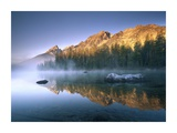 The Teton Range at String Lake, Grand Teton National Park, Wyoming Posters by Tim Fitzharris