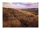 Badlands in Theodore Roosevelt National Park, North Dakota Posters by Tim Fitzharris