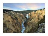 Lower Yellowstone Falls, Yellowstone National Park, Wyoming Art by Tim Fitzharris