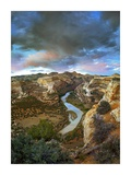 Winding Yampa River, Dinosaur National Monument, Colorado Posters by Tim Fitzharris