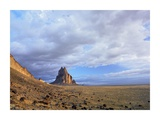 Shiprock, the basalt core of an extinct volcano, New Mexico Art by Tim Fitzharris