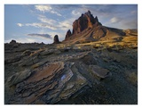 Shiprock, the basalt core of an extinct volcano, New Mexico Posters by Tim Fitzharris