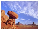 Mushroom Rock in Monument Valley Najavo Tribal Park, Arizona Prints by Tim Fitzharris