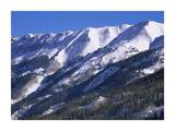 San Juan Mountains covered in snow, Rocky Mountains, southwest Colorado Prints by Tim Fitzharris