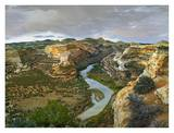 Yampa River flowing through canyons, Dinosaur National Monument, Colorado Posters by Tim Fitzharris