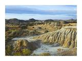 Badlands, South Unit, Theodore Roosevelt National Park, North Dakota Print by Tim Fitzharris