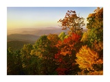 Blue Ridge Mountains from Bluff Mountain Overlook, North Carolina Prints by Tim Fitzharris