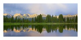Panorama of West Needle Mountains, Weminuche Wilderness, Colorado Prints by Tim Fitzharris