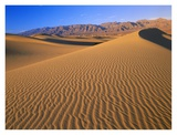 Mesquite Flat Sand Dunes, Death Valley National Park, California Posters by Tim Fitzharris